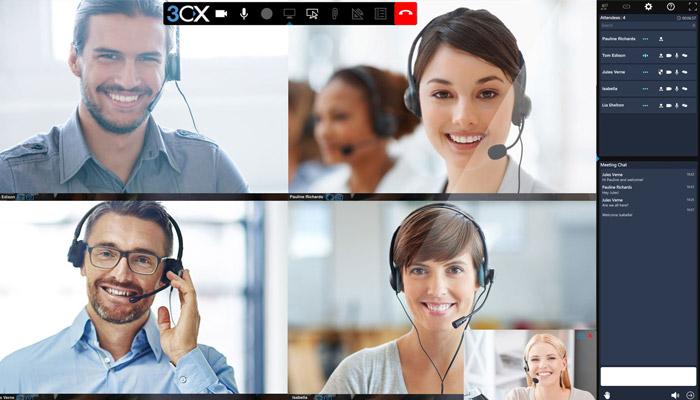 Il tuo ufficio ovunque tu sia grazie al centralino VoIP 3CX