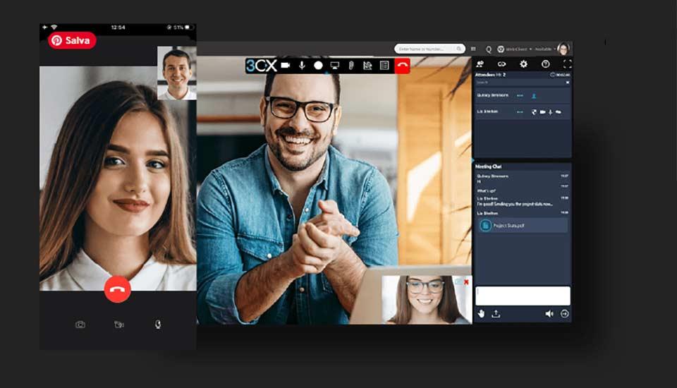 Centralino 3XC Videoconferenza Facile e Senza App